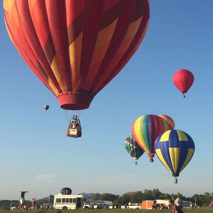Hot Air Balloon Ride for 4 People
