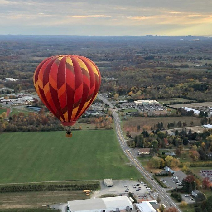 Private Hot Air Balloon Ride For 4 in New York