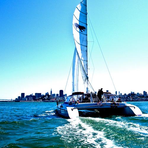 Catamaran Sailing Adventure in San Francisco
