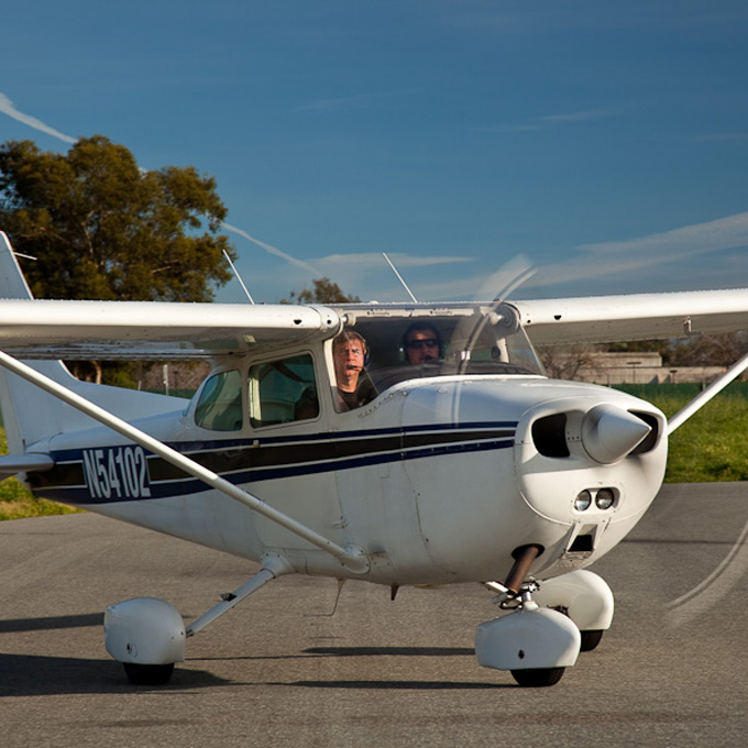 Learn to Fly a Plane over Big Sur
