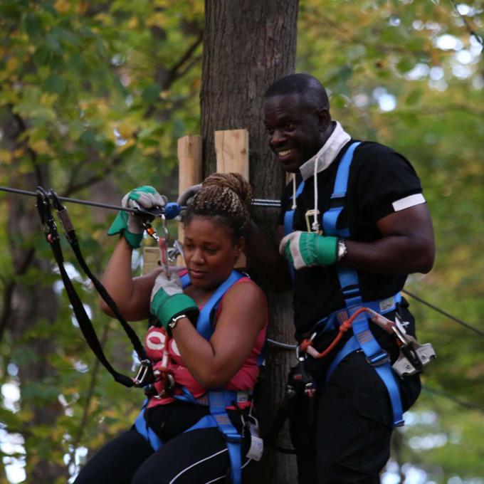 Guided Ziplining and Aerial Adventure Course in MA