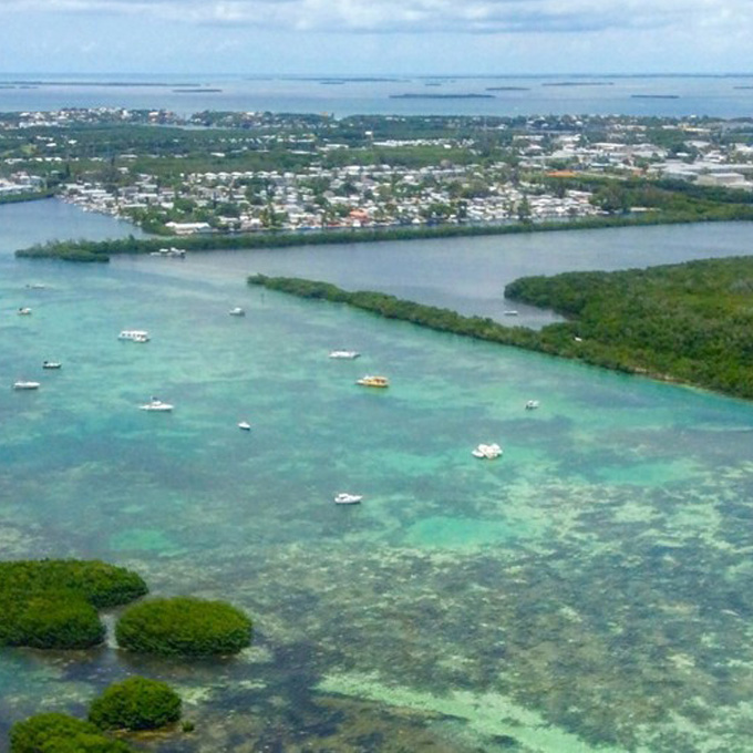See Key West from the Air