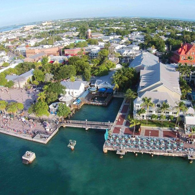 Take a Helicopter Flight Over Key West