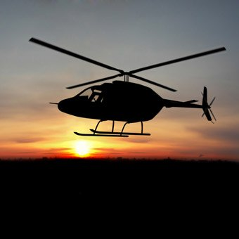 Sunset Helicopter Ride