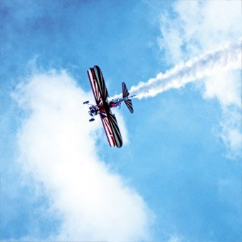 Aerobatic Biplane Ride in San Jose
