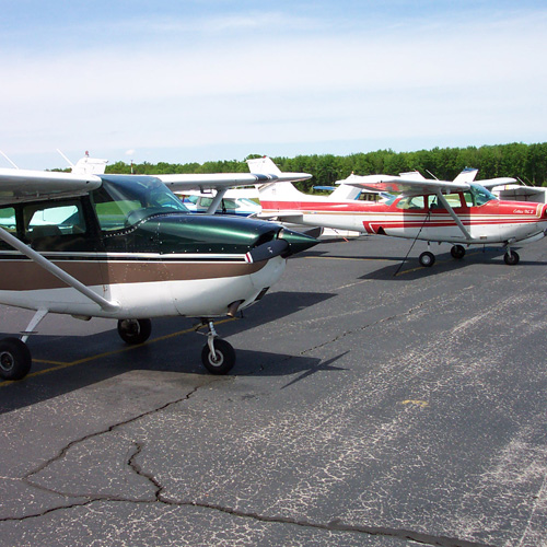 Planes Flown at Learn to Fly Boston