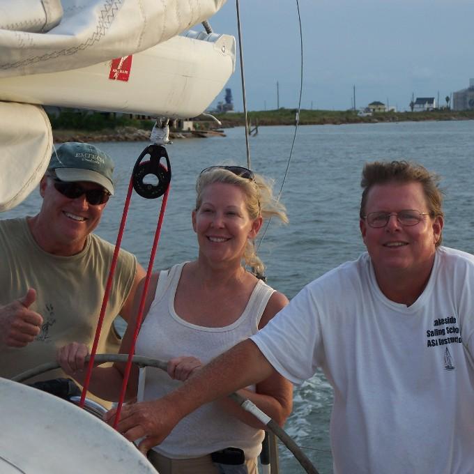 Galveston Bay Sailing Charter in Texas