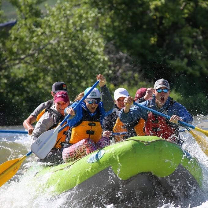 Salt Lake City White Water Rafting