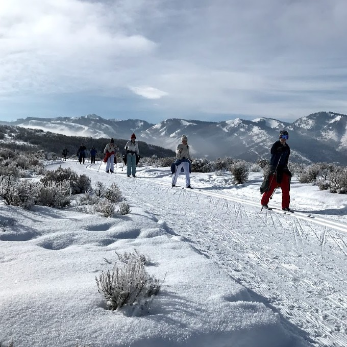 Cross-Country Ski Tour