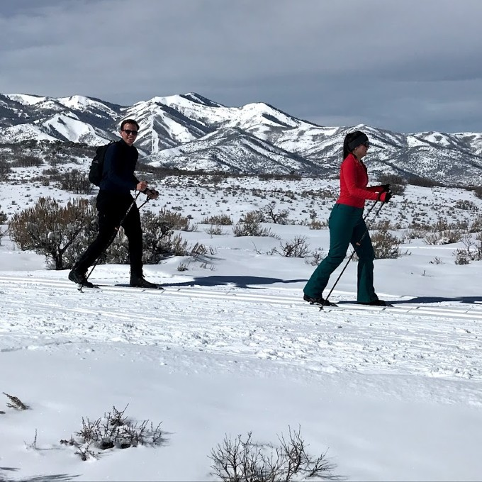 Cross-Country Guided Ski Tour in Utah