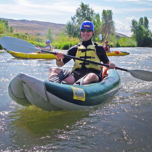 Park City Inflatable Kayak Tour