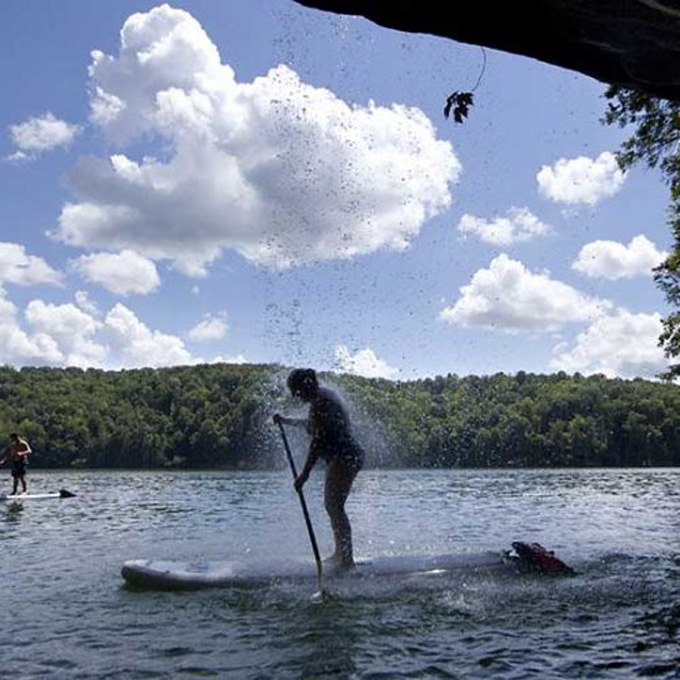 Stand Up Paddleboarding in West Virginia