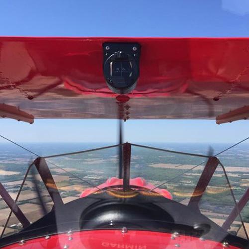 Biplane Flight in Austin