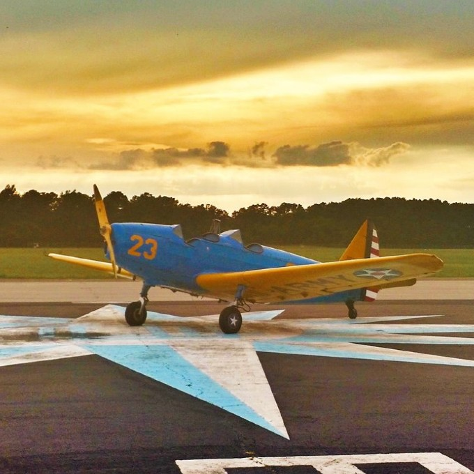 Scenic Warbird Flight in Topping, VA