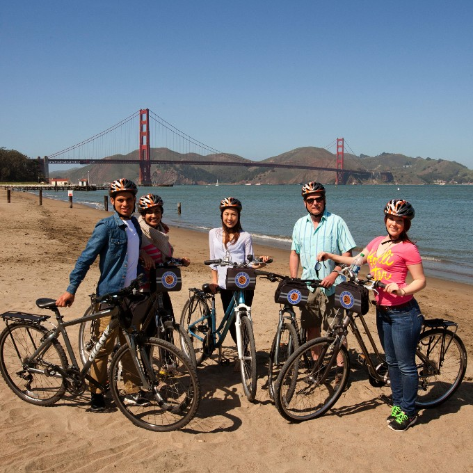 Golden Gate Bridge Bike Tour in San Francisco