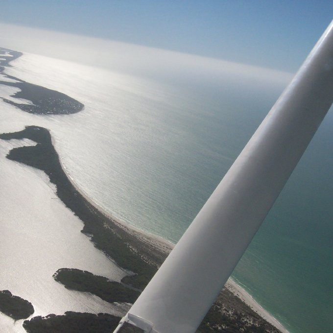Views during Scenic Airplane Tour in Ft. Myers