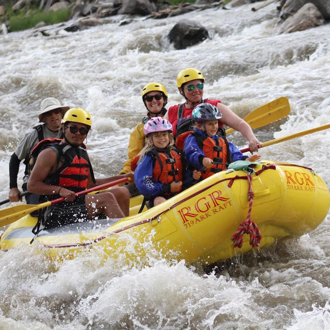 Bighorn Whitewater Rafting near Colorado Springs