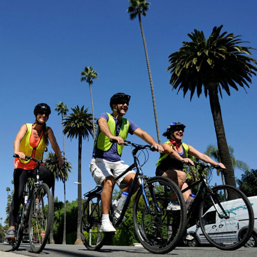Los Angeles Guided Bike Tour