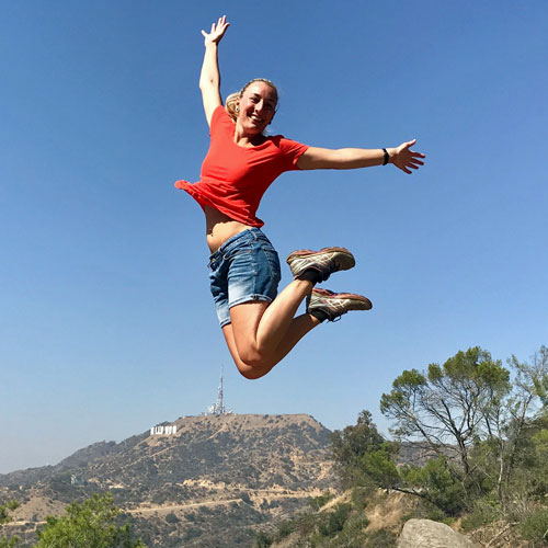 Hike to the Hollywood Sign in LA