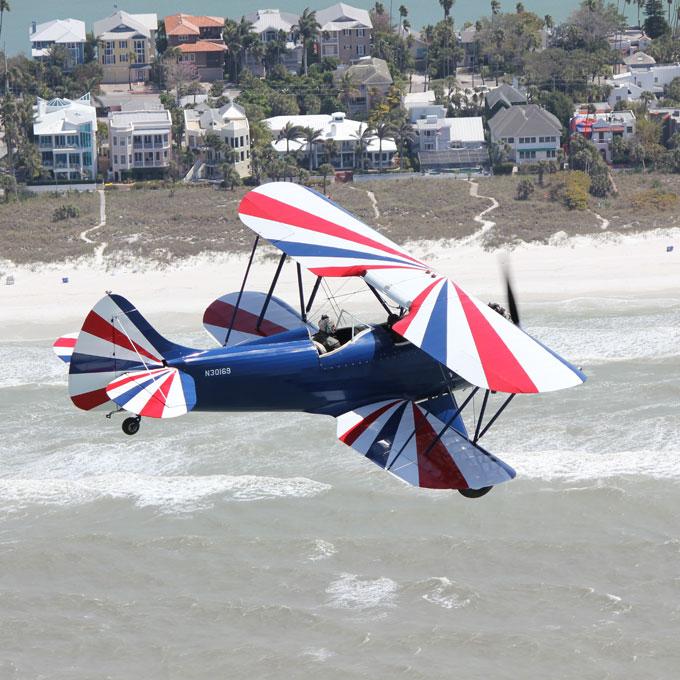 Biplane Flight in Florida