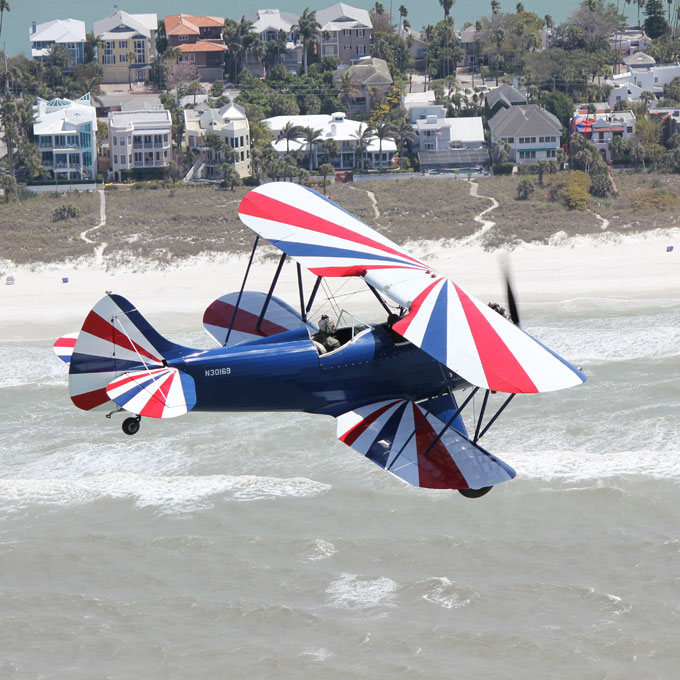 Scenic Biplane Flight in Florida