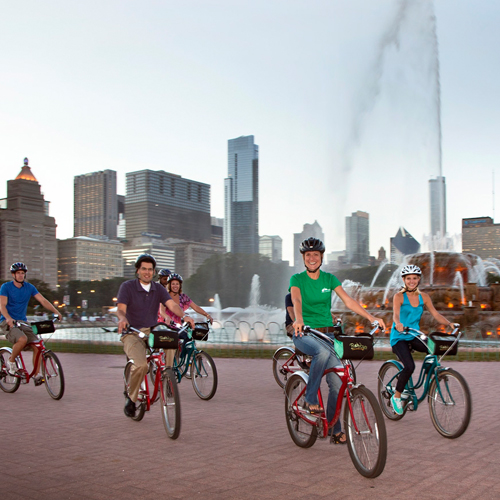 Chicago Bike at Night Tour