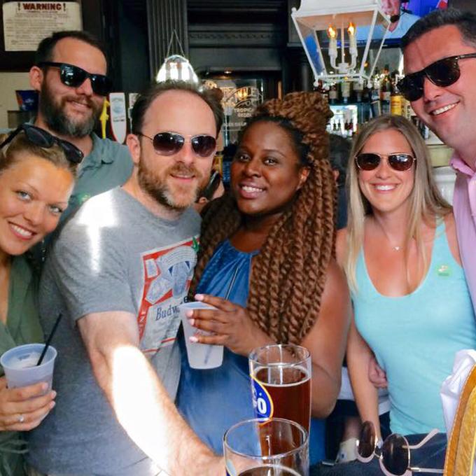 Local Boston Brews during Pub Crawl Experience