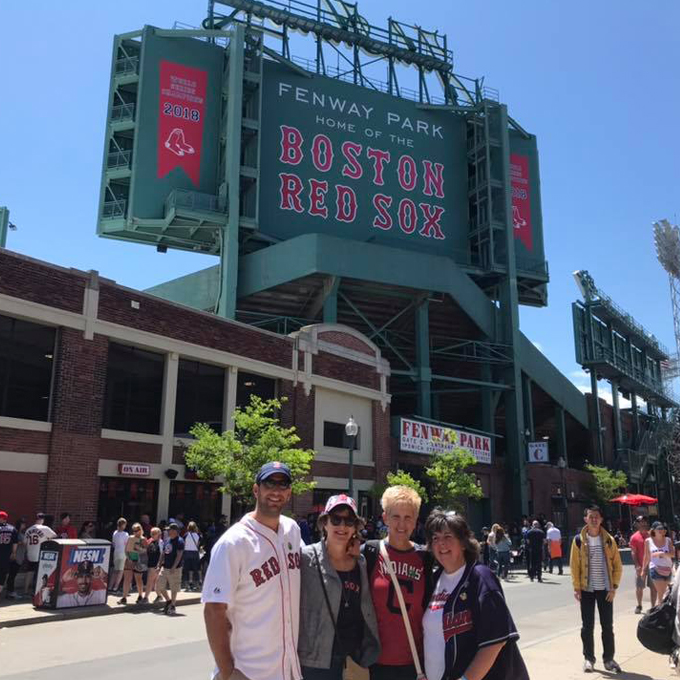 Red Sox Baseball History during Tour in Boston