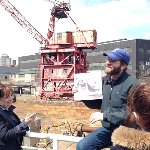 Historical Guided Tour at the Brooklyn Navy Yard