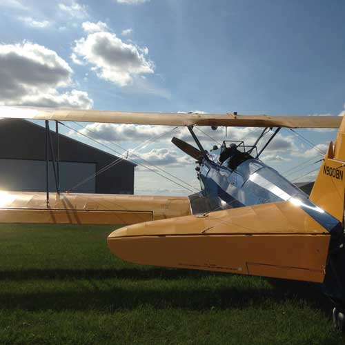 Aerial Thrill Ride in a Vintage Biplane near Minneapolis