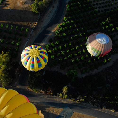 Morning Balloon Flight in Temecula