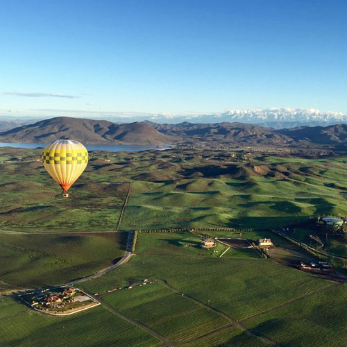 California Hot Air Balloon Ride near San Diego