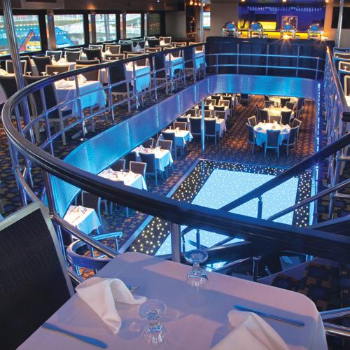 Celebration Deck on Chicago Dinner Cruise