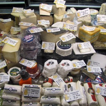 West Side Market Tour Artisinal Cheese Booth