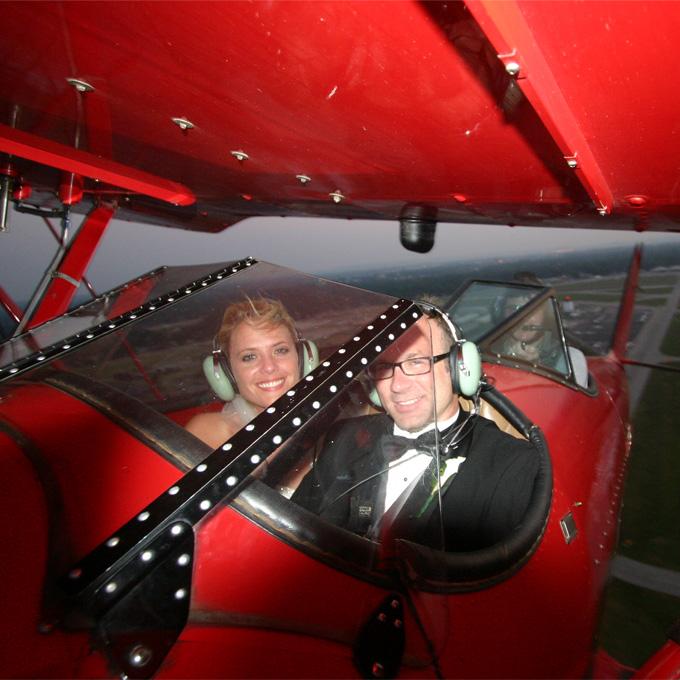 Biplane Ride in Louisville