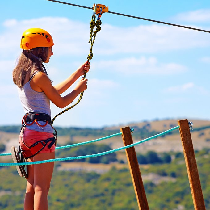 Zipline Adventure near Colorado Springs