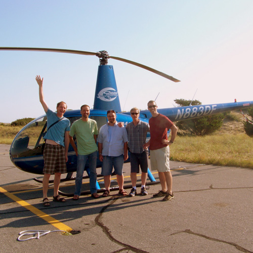 Scenic Helicopter Tour in the Outer Banks