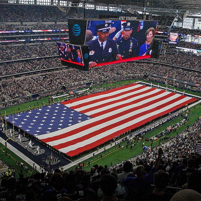 Tour of Dallas Cowboys Stadium