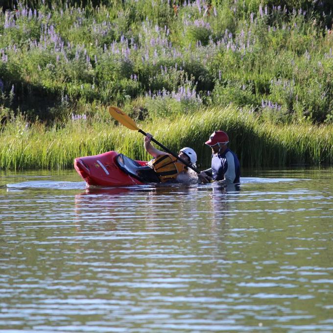 Kayak Lesson for Beginners