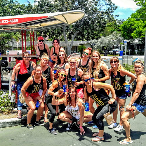 Bachelorette Party Bike Tour in Fort Lauderdale