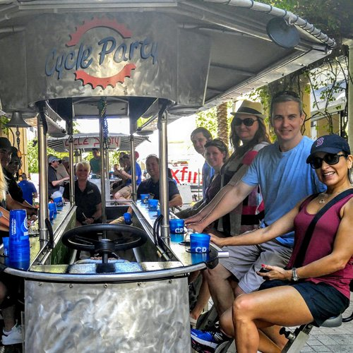 Pub Crawl By Party Bike in Fort Lauderdale