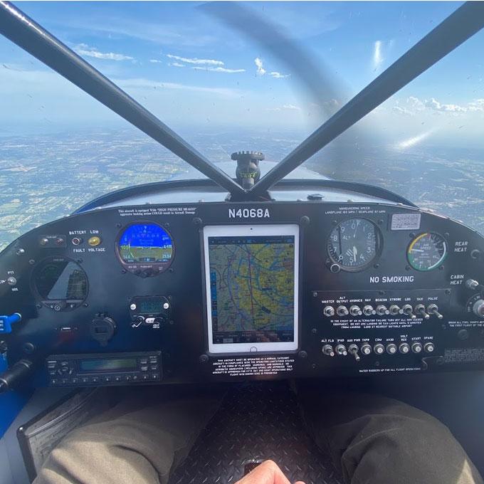 Introductory Sea Plane Flight Lesson in Pineville, LA
