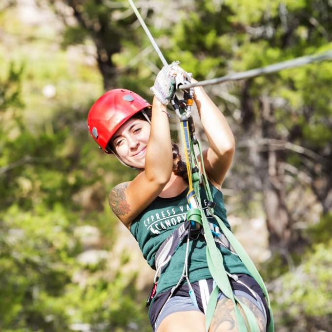 Ziplining Canopy Adventure