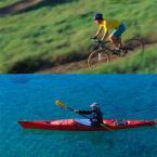 Miami Kayak and Mountain Biking Tour