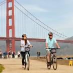 Bike over the Golden Gate Bridge
