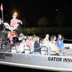 Night Airboat Swamp Tour in Orlando