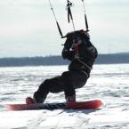 Snow Kiting in Denver