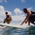 Group Surfing Class in San Jose