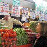 Cleveland West Side Market Tour Produce Booth
