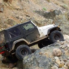 Earthquake Canyon Jeep Tour in Orange County